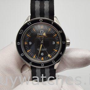 Omega Seamaster 233.32.41.21.01.001 Nylon 41mm Mens Automatic Watch