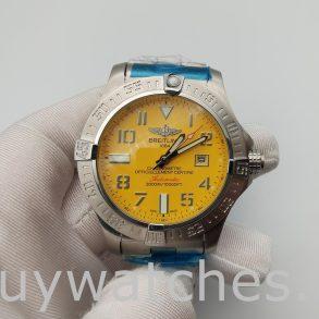 Breitling Avenger Seawolf A17331101 I1A1 Yellow Dial Men's 45mm Watch