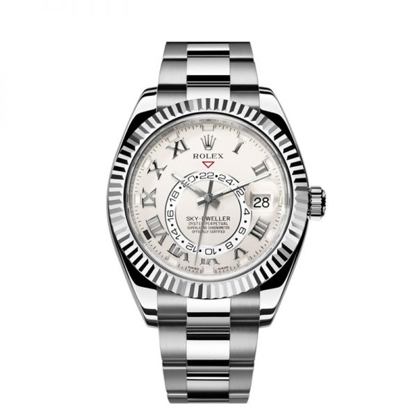 Rolex Sky-Dweller 326939 Ivory Dial 42mm Men's Round Automatic Watch