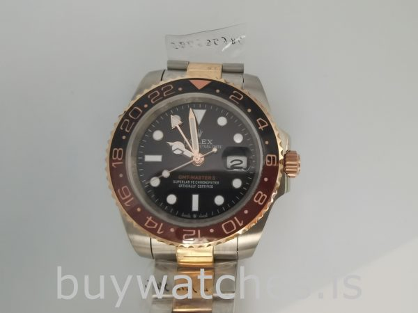 Rolex GMT-Master 126711 Mens 40mm Steel Black Dial Automatic Watch