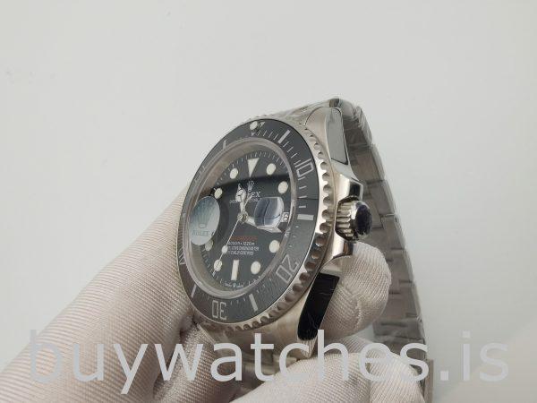 Rolex Sea-Dweller 126600 Black Steel Round 43mm Swiss Automatic Watch