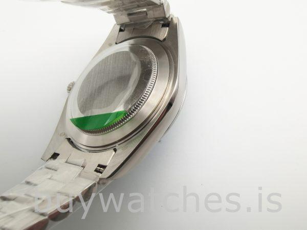 Rolex Day-Date Blue Stk Smth Men 40mm 3255 Automatic Watch