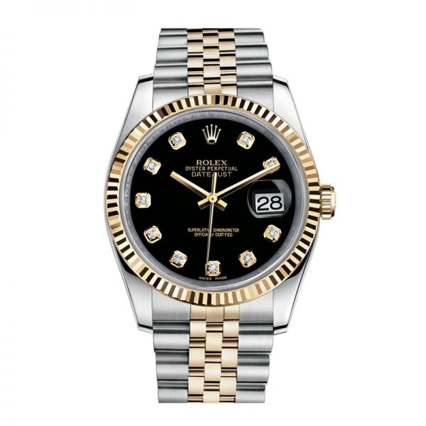 Rolex Datejust 116233 Unisex 36mm 18k Yellow Gold Automatic Watch
