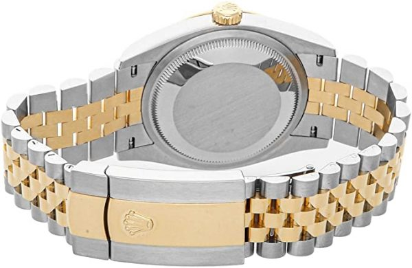 Rolex Datejust 126233 Beige Dial Men's 36mm Automatic Watch