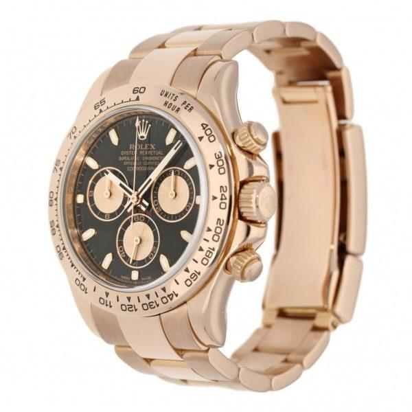 Rolex Daytona 116505 Mens Rose Gold 40mm Round Automatic Watch