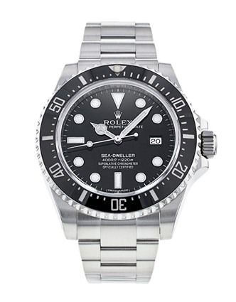 Rolex Sea-Dweller 116600 Mens 40mm Steel Black Dial Automatic Watch