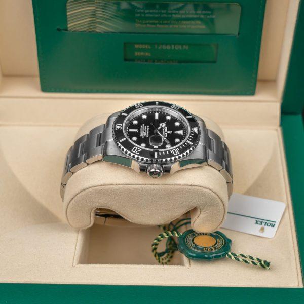 Rolex Submariner 126610 Unisex Black Dial Steel 41mm Automatic Watch