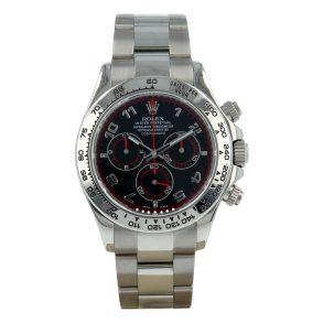Rolex Daytona 116509 Black Dial 40mm Sapphire Swiss Automatic Watch